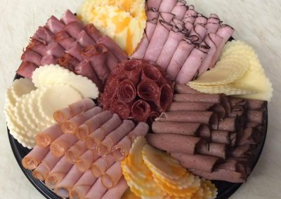 meats and cheese catering