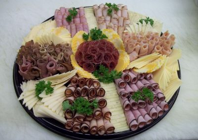 deli meats, cheese, and pastries