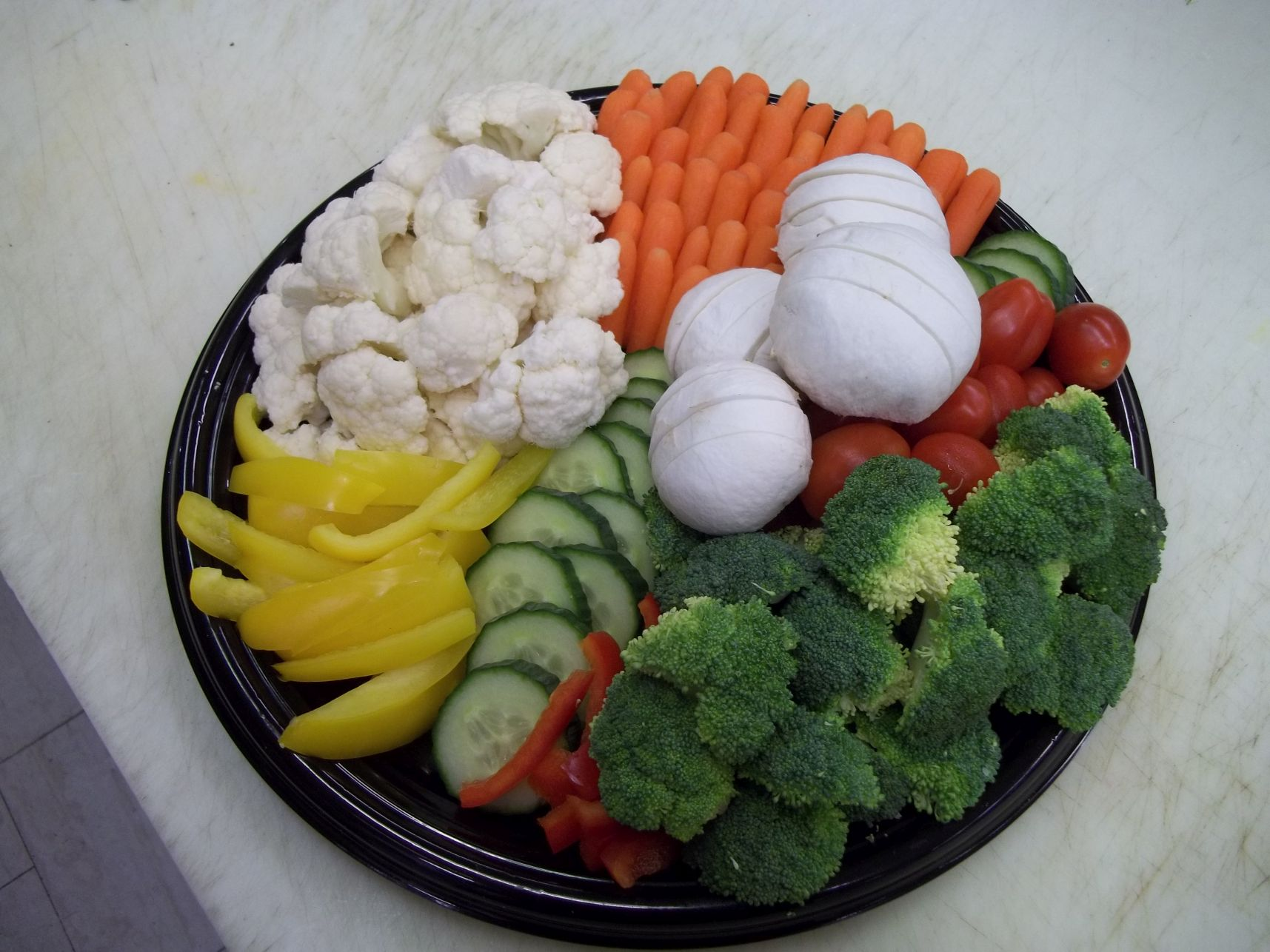 vegetables cater